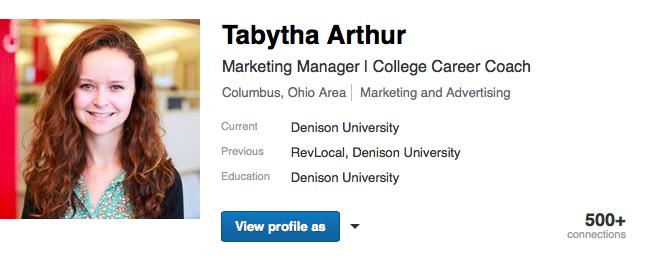 profile example