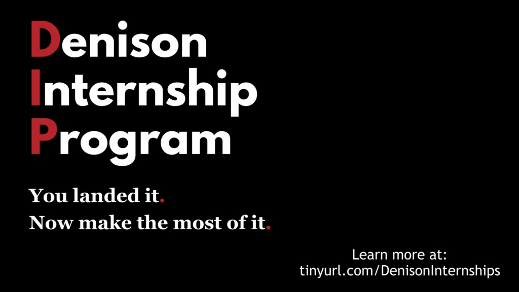 Denison Internship Program 2018 presentation