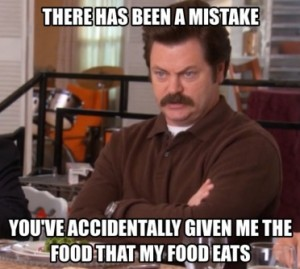 funny-picture-ron-swanson-vegetarian-meal
