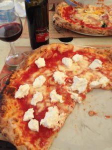 Pizza in napels!